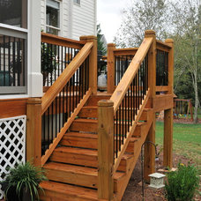 Traditional Exterior by Innovative Construction Inc.