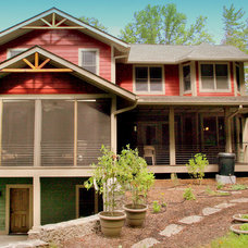 Traditional Exterior by HomeSource Builders