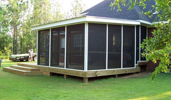 Screened Room and Deck