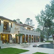 Mediterranean Exterior by Golden Isles Custom Homes, LLC