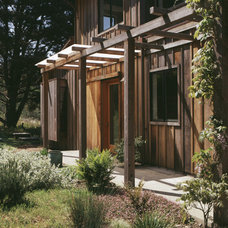 Eclectic Exterior by Nick Noyes Architecture