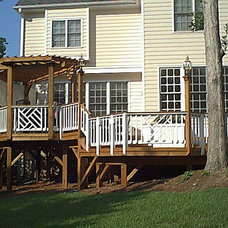 Traditional Exterior by Weatherford Construction Company