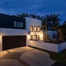 Modern Exterior by Brian Church Architecture