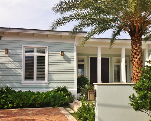 Blue Exterior Paint Color | Houzz
