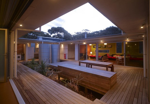 Exterior by Bourne Blue Architecture