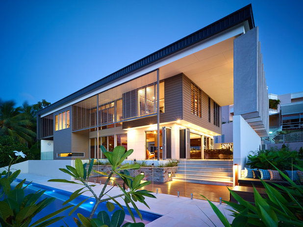 Contemporary Exterior by DM2 Architecture