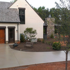 Traditional Exterior by Integrity Concrete, LLC
