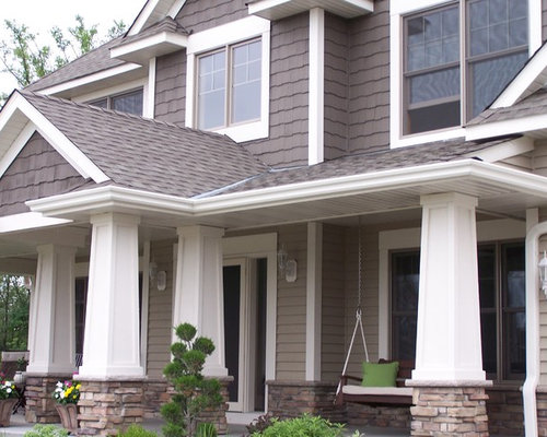 Vinyl Siding Material Home Design Ideas, Pictures, Remodel and Decor