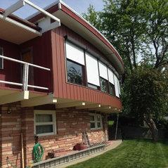 Modern Maroon Residence   Glendive, MT