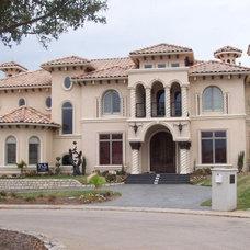 Mediterranean Exterior by Sean Knight Custom Homes