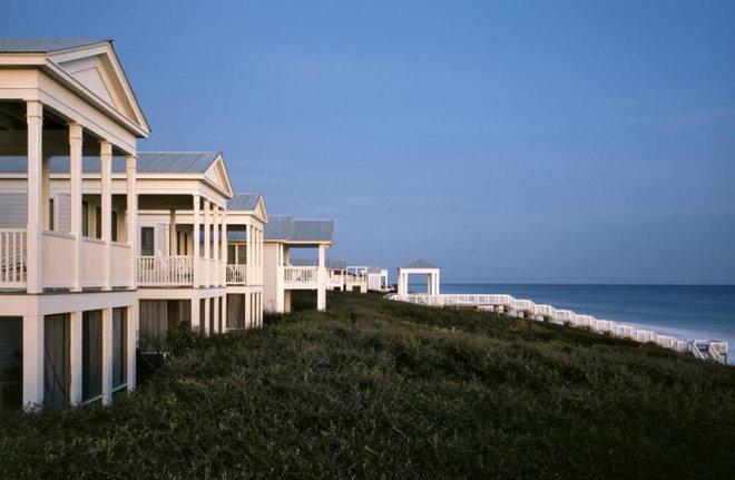 Beach Style Exterior Seaside