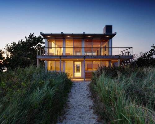 Modern Beach House Houzz