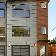 Contemporary Exterior by Rod Nicholas Finishing Touch