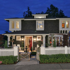 Traditional Exterior by Kristi Spouse Interiors