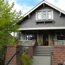 Traditional Exterior by Matthew Craig Interiors