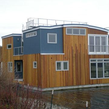 Seattle Lake Union Houseboat