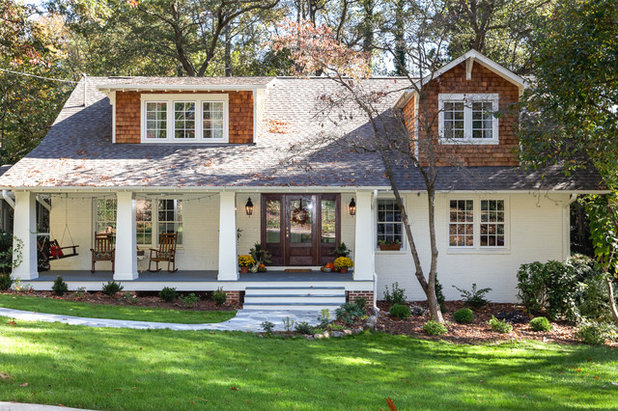 Traditional Exterior by Tree 2 Key Builders