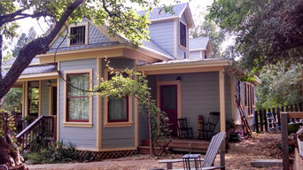 Second story and addition on turn of the century home