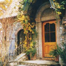 Traditional Exterior by DeSantana Stone Company