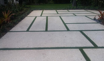 Sectional Driveway with Synthetic Turf
