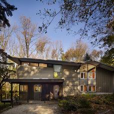 Contemporary Exterior by Metcalfe Architecture & Design