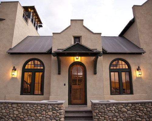 Parapet Gable Home Design Ideas Pictures Remodel And Decor