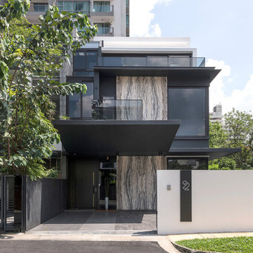 Semi-Detached House at Moonbeam Walk - Singapore