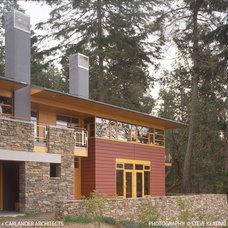 Modern Exterior by Vandeventer + Carlander Architects