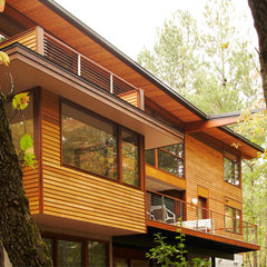 modern exterior by Moon Bros Inc