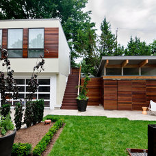 Contemporary Exterior by DRAW Architecture