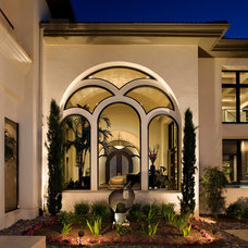 Contemporary Exterior by JAUREGUI Architecture Interiors Construction