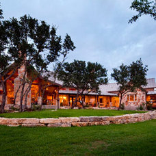 Traditional Exterior by Hill Country Plans
