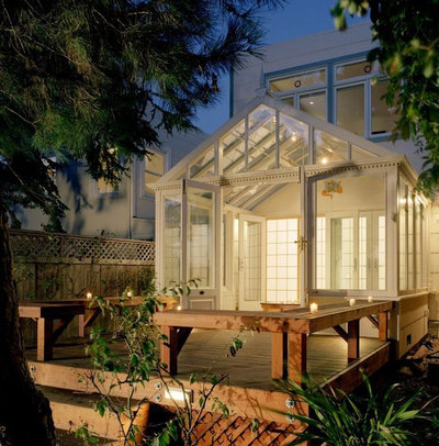 Eclectic Exterior by BMF Construction
