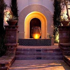 Mediterranean Exterior by Sinclair Associates Architects