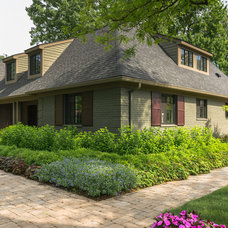 Traditional Exterior by Shelter Design Studio, LLC