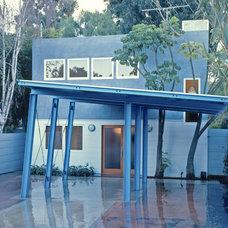 Contemporary Exterior by JUAN FELIPE GOLDSTEIN DESIGN CO