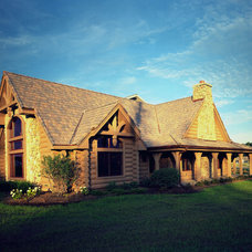 Traditional Exterior by Vande Hey Raleigh