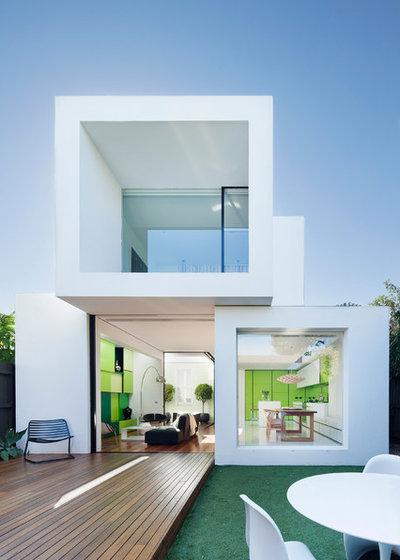 Contemporain Façade by Matt Gibson Architecture + Design