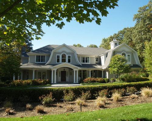 gambrel style house home design ideas renovations photos