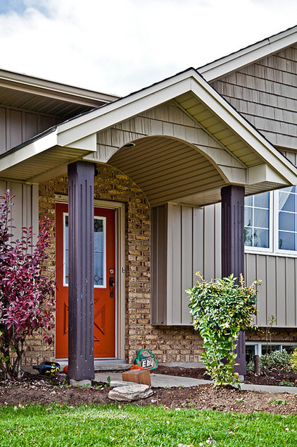 Traditional Exterior by Imagine Your Home Inc