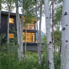Modern Exterior by Valdez Architecture - Interiors
