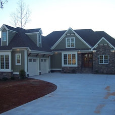Traditional Exterior by Shaw Custom Builders
