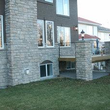 Contemporary Exterior by Baywood Estate Homes