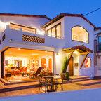California Desert Moroccan Home Mediterranean Exterior