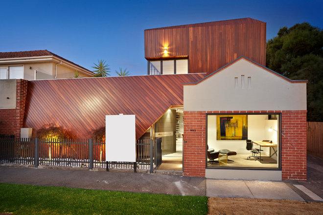 Contemporary Exterior by Platinum Building Group