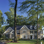 Cape Cod Style Home Traditional Exterior Grand