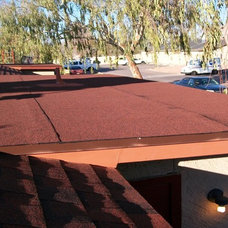 Modern Exterior by Arizona Roof Rescue