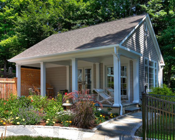 Traditional Exterior by Blansfield Builders, Inc.