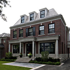 Traditional Exterior by Sherwood Custom Homes