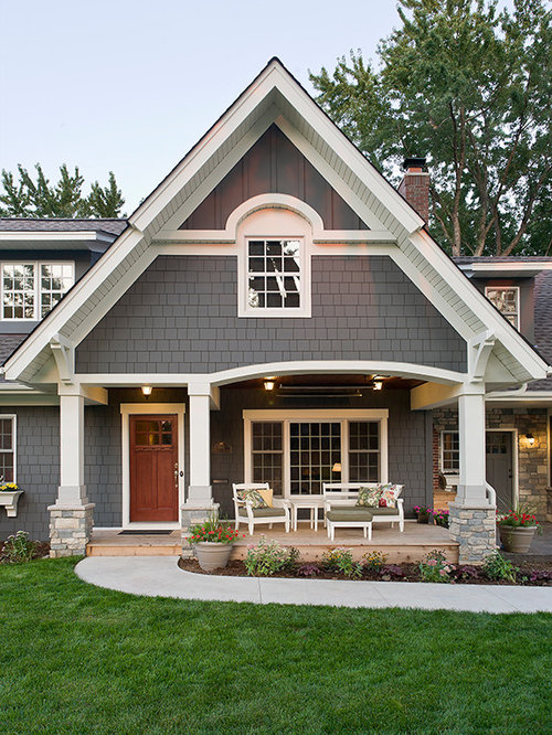 Benjamin moore kendall charcoal ideas pictures remodel and decor for Exterior color schemes for country homes